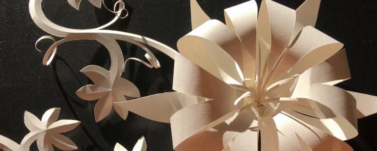 Introduction to Paper Sculpting Banner 2x